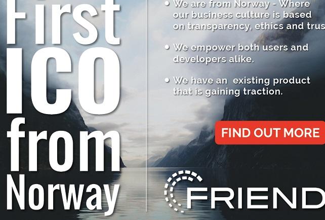 FriendUP – Primer TGE de Noruega, donde la transparencia y la confianza abundan