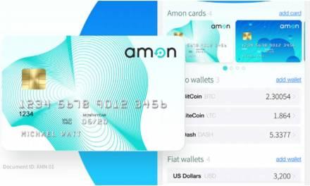 Tarjeta de débito de Amon elije la mejor criptomoneda de tu portafolio para cada compra