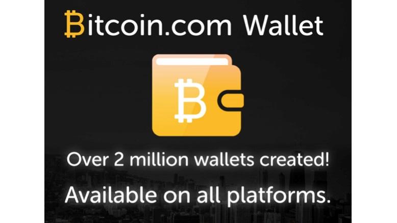 Bitcoin.com celebra 2 millones de carteras creadas en menos de un año