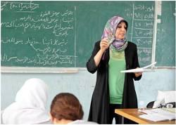 Escuela-Maestra-Árabe-Niñas