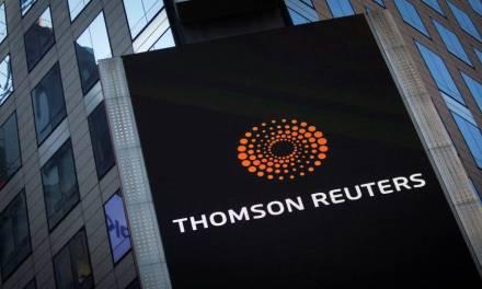 Thomson Reuters añade principales criptomonedas en su monitoreo de movimientos de mercado