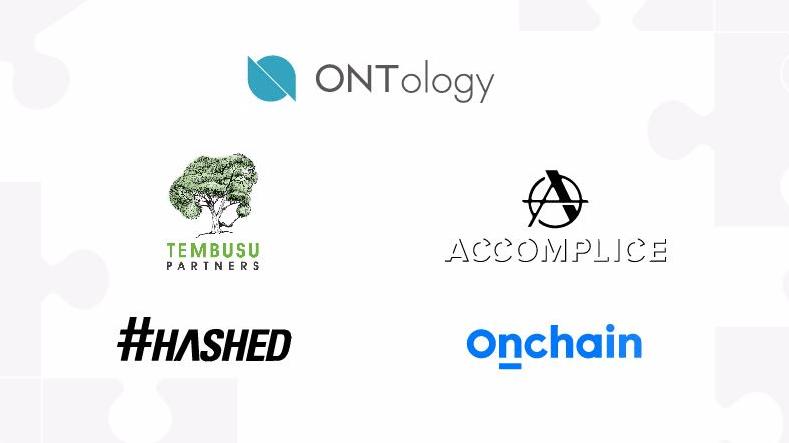 Ontology se asocia con los constructores de ecosistemas Tembusu Partners, Accomplice, Hashed y Onchain