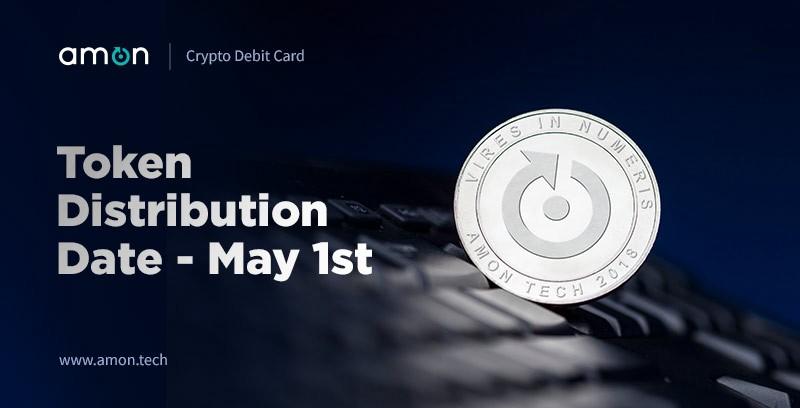 Plataforma de pagos Amon entregará los tokens de su ICO a partir del 1 de mayo
