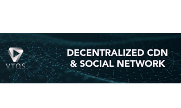 VTOS: red descentralizada para compartir contenido, anuncia evento de generación de tokens
