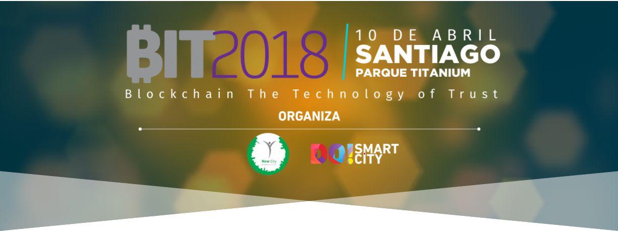 BIT2018 abordará los retos y oportunidades de la tecnología blockchain en Chile