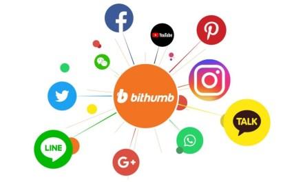 Bithumb facilitará pagos con criptomonedas en redes sociales