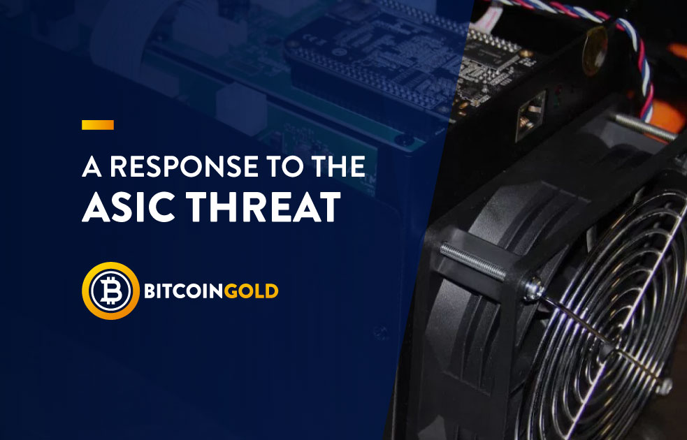 Bitcoin Gold lanzará actualización para mantenerse resistente a los mineros ASIC