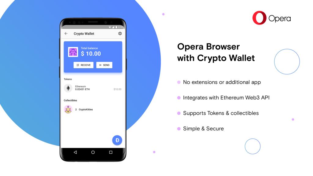 Nueva versión del navegador Opera incorpora criptomonedero de ...