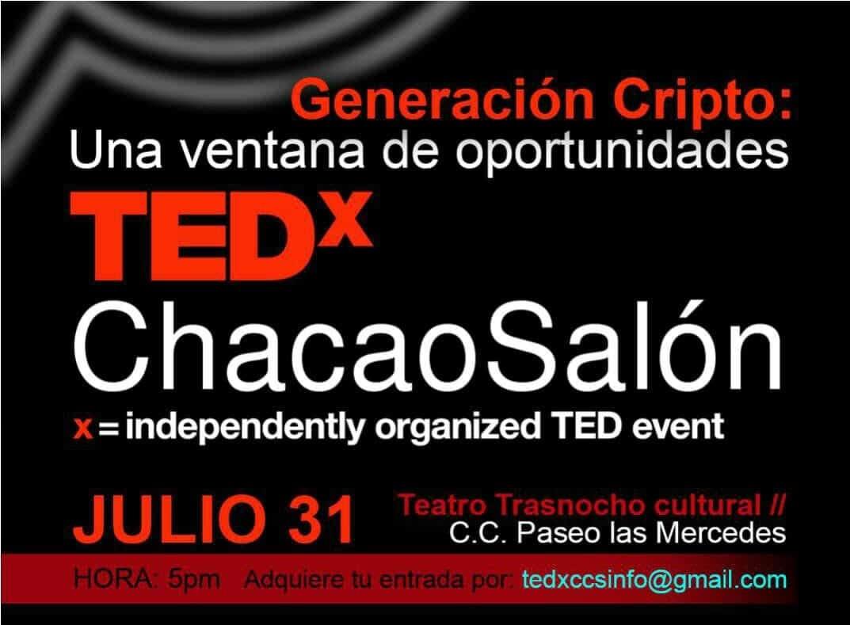 El evento TEDx Generación Cripto abre una nueva ventana de ...