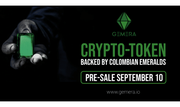 GEMERA, el Criptotoken colombiano respaldado con esmeraldas, anuncia preventa