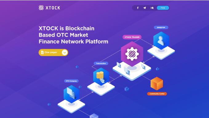 Xtock, plataforma Blockchain de trading OTC, anuncia lanzamiento de website Alfa