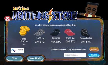 Sarutobi Island permitirá comprar accesorios para el juego usando Lightning Network