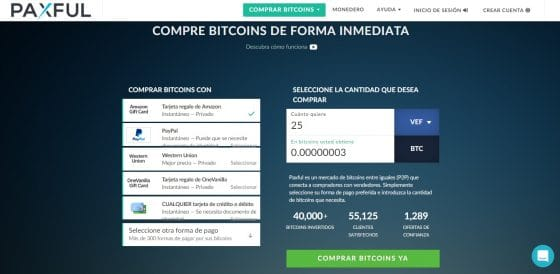 Paxful: una plataforma donde comprar y vender tus bitcoin