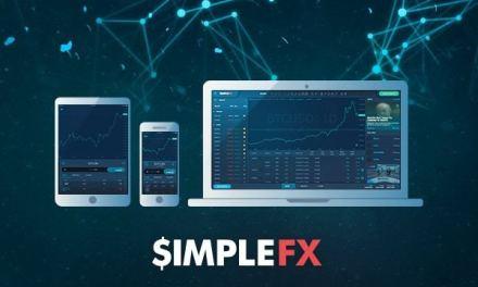 SimpleFX ofrece una plataforma para el comercio con criptomonedas en un mercado en baja
