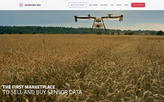 DataBroker DAO lanza mercado de datos de sensores de IoT