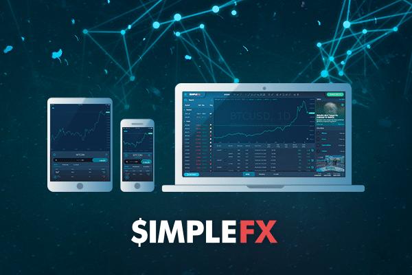 SimpleFX ofrece soluciones efectivas para el comercio con criptomonedas