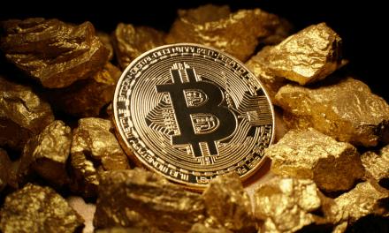 Denarium subasta barras de oro que incluyen un monedero Bitcoin