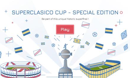 Apoya con Cryptocup a tu equipo favorito del superclásico Boca-River en Ethereum
