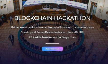 Hackathon blockchain buscará soluciones financieras para la Bolsa de Santiago