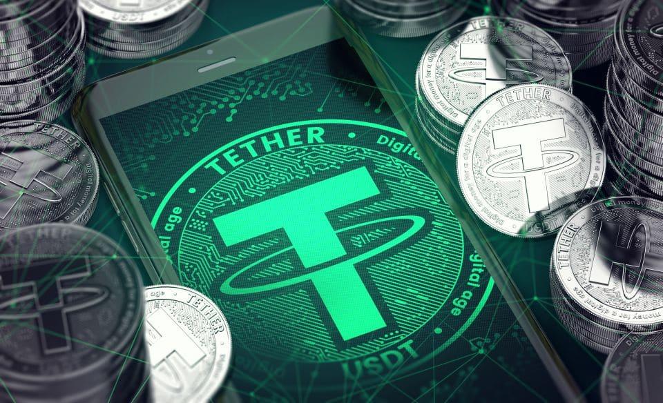 Dominancia de Tether cae al 78% entre los token anclados al precio del dólar