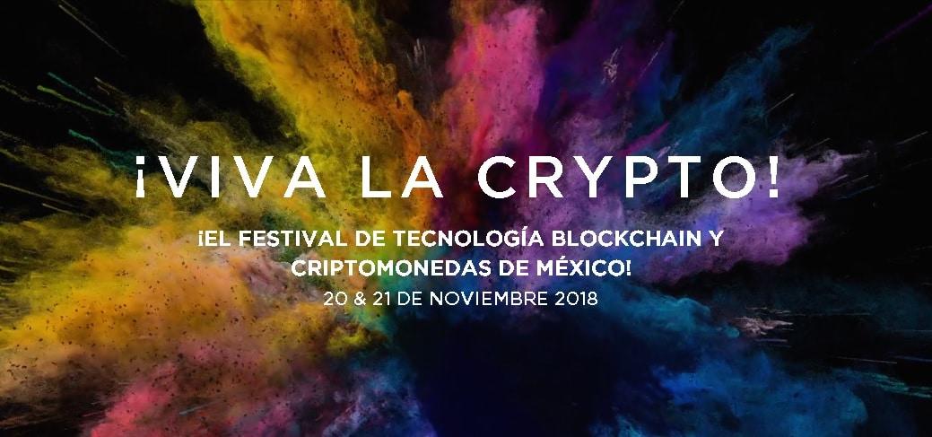 México dirá ¡Viva La Crypto! este 20 y 21 de noviembre