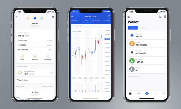 Waves lanza actualización de su aplicación para dispositivos móviles