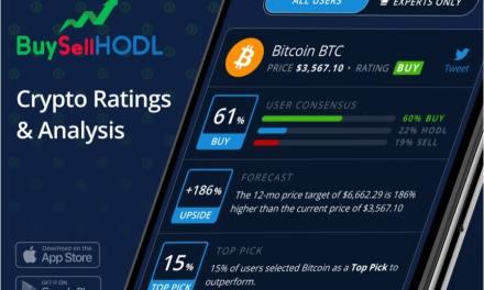 BuySellHODL lanza App de clasificación por precios-objetivo de criptomonedas