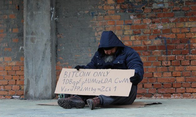 Donación callejera