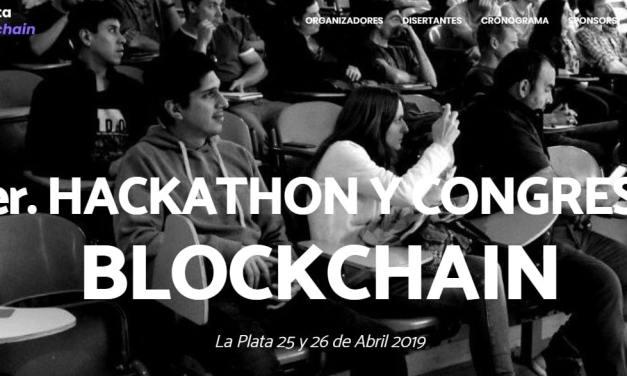 La Plata se prepara para su 1.er Hackathon y Congreso Blockchain