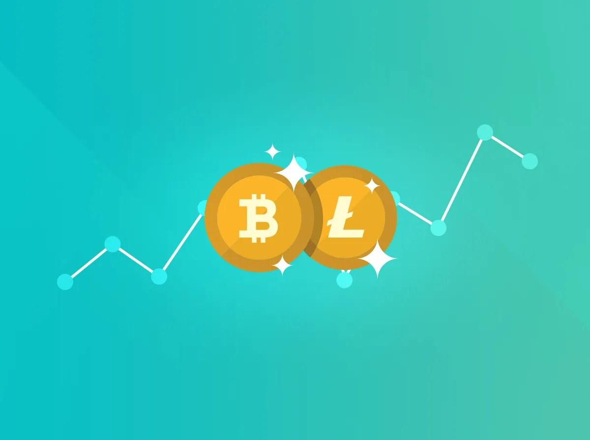 Litecoin +30.10% vs Bitcoin -11.92% 5 Litecoin Bitcoin