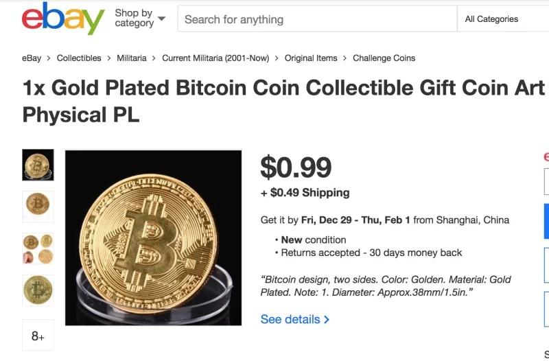 Moneda de colección Bitcoin