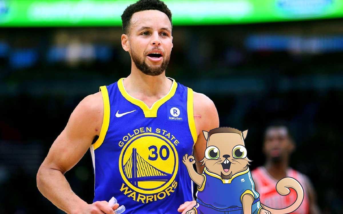 Stephen Curry de la NBA será la primera celebridad con su propio CryptoKitty