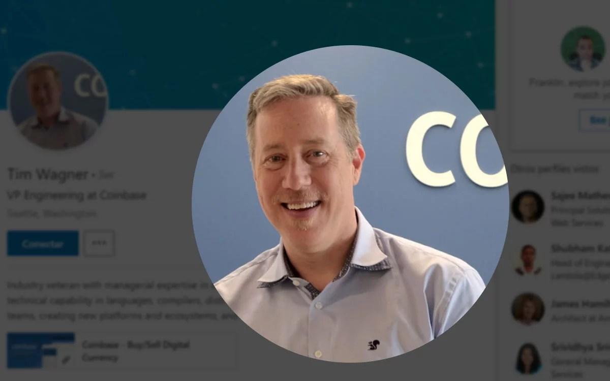 Coinbase contrata nuevo talento proveniente de amazon para el cargo de Vicepresidente de ingeniería