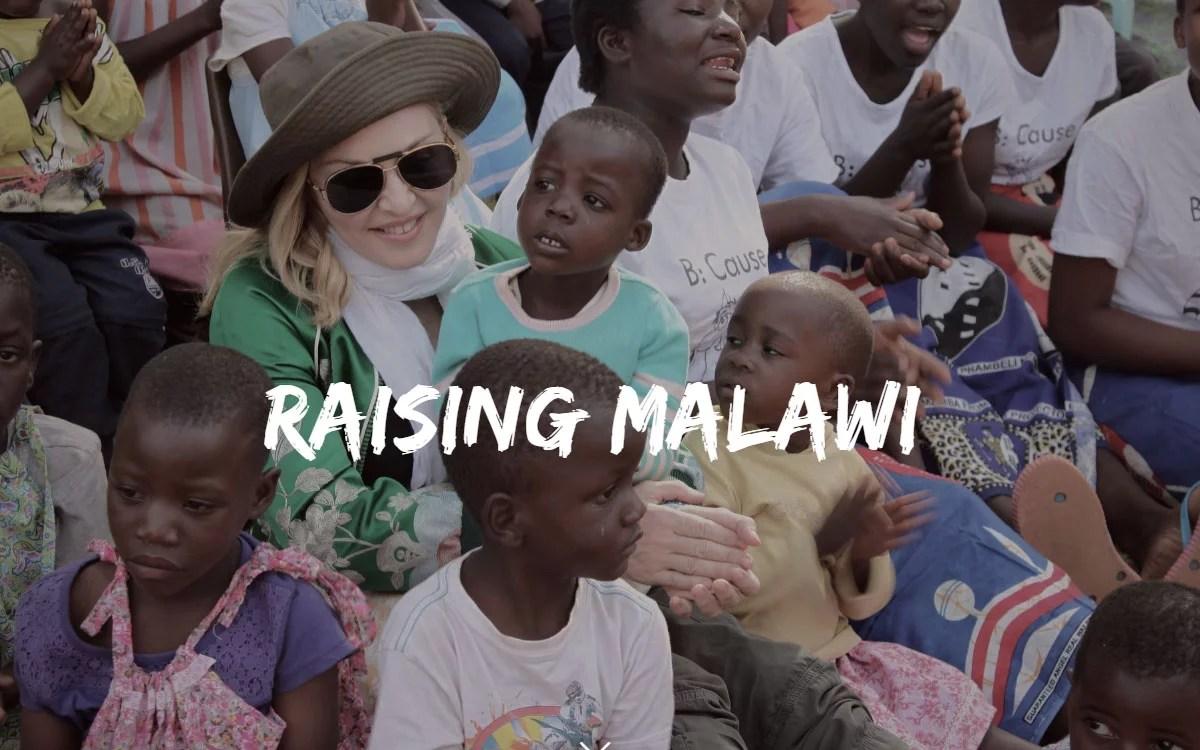 Madonna trabaja junto con Ripple en pro de los huérfanos en Malawi