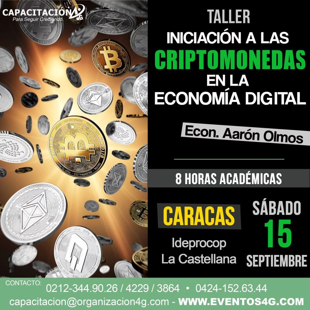 Taller iniciación a las criptomonedas en la economía digital
