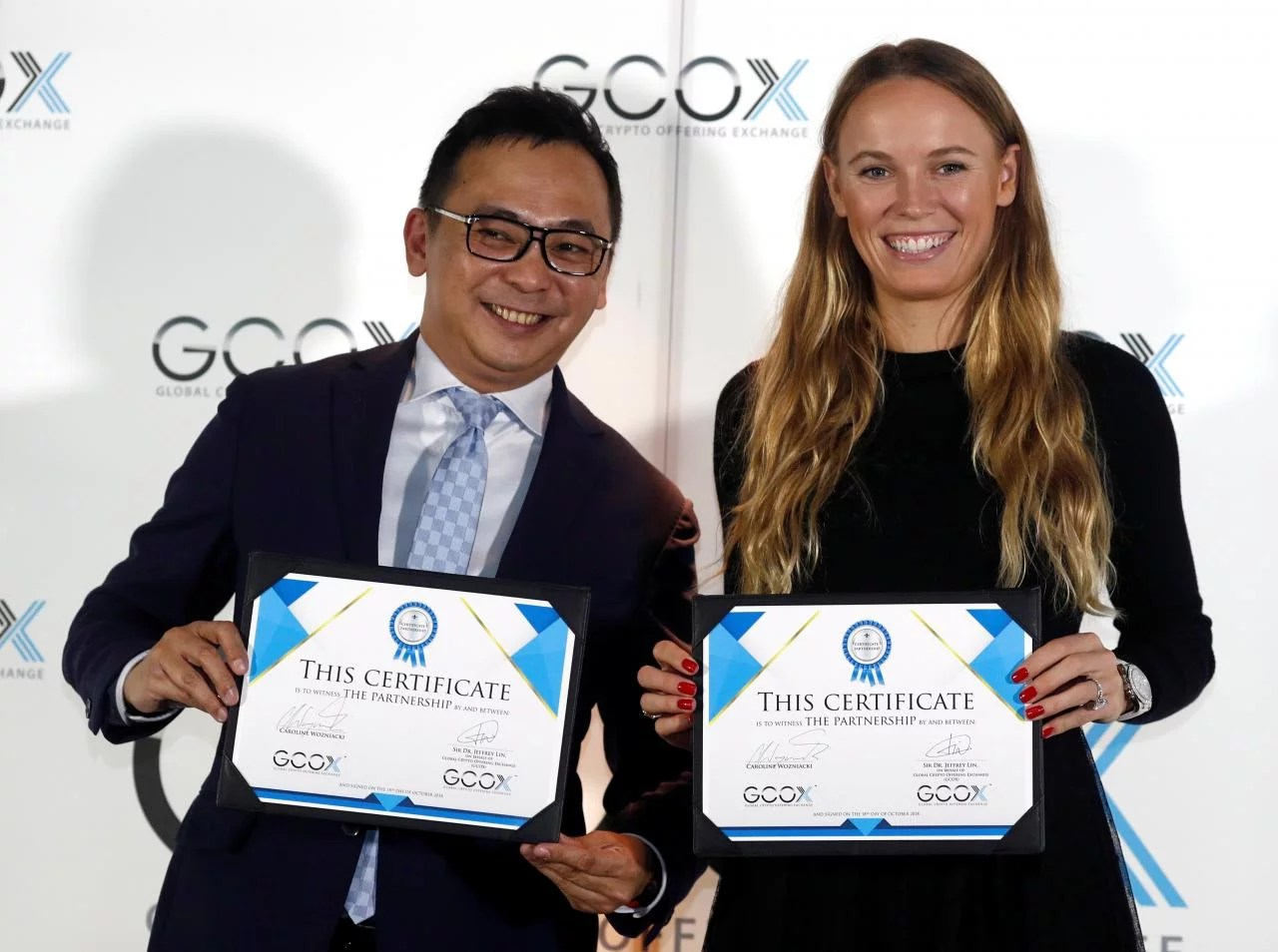 Caroline Wozniacki, tenista número dos del mundo, tendrá su propio token digital