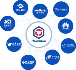 Consorcio chino liderado por Tencent y Huawei lanzará una plataforma blockchain sin monedas