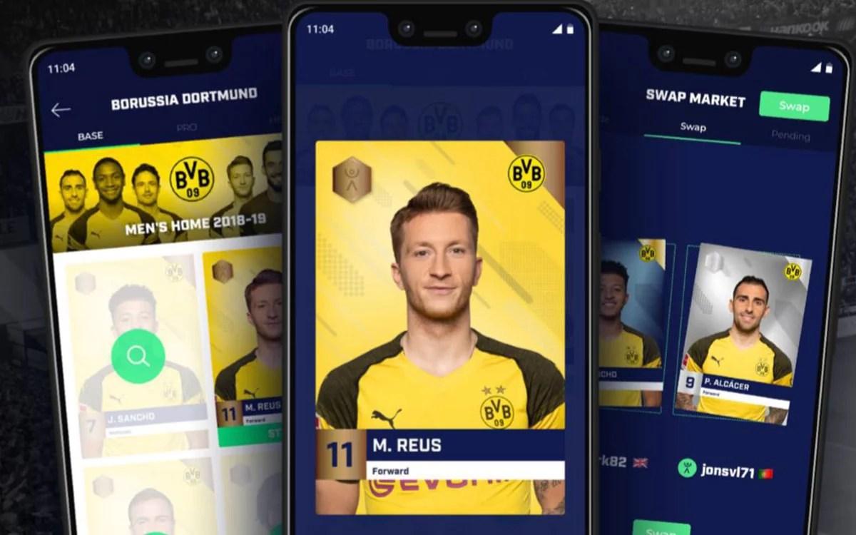 Blockchain une a Fantastec SWAP y Borussia Dortmund en su plataforma digital