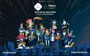 Blockchain Land un lugar dentro del evento Jalisco Talent del 22 al 26 de abril