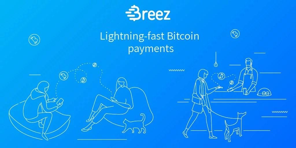 Breez inicia aplicación beta en iPhone con tecnología de Lightning Network