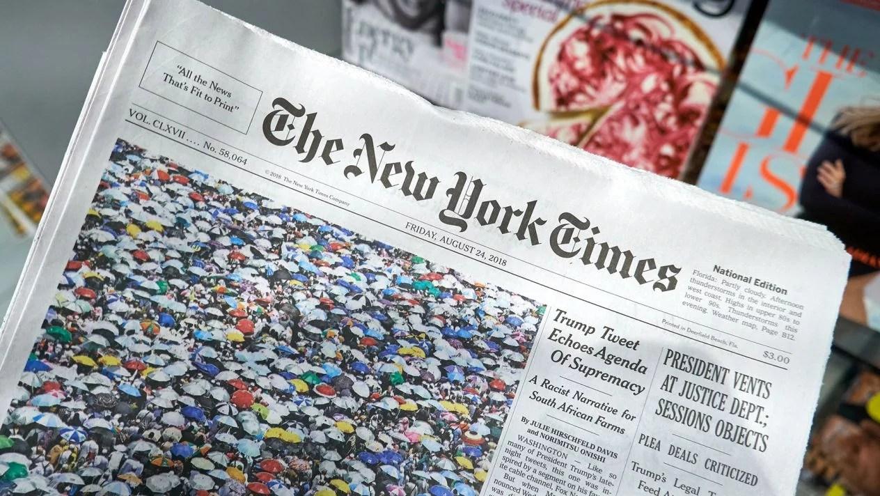 The New York Times integra tecnología blockchain a su proyecto de precedencia de noticias para combatir la desinformación