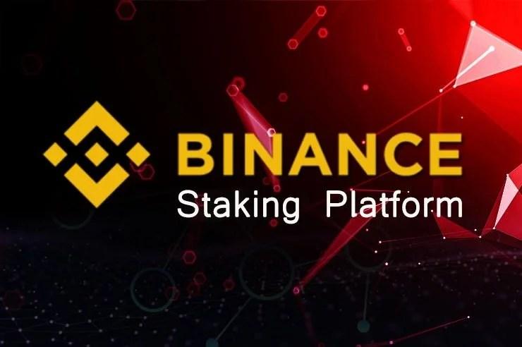 Binance anuncia el lanzamiento de su plataforma Binance Staking