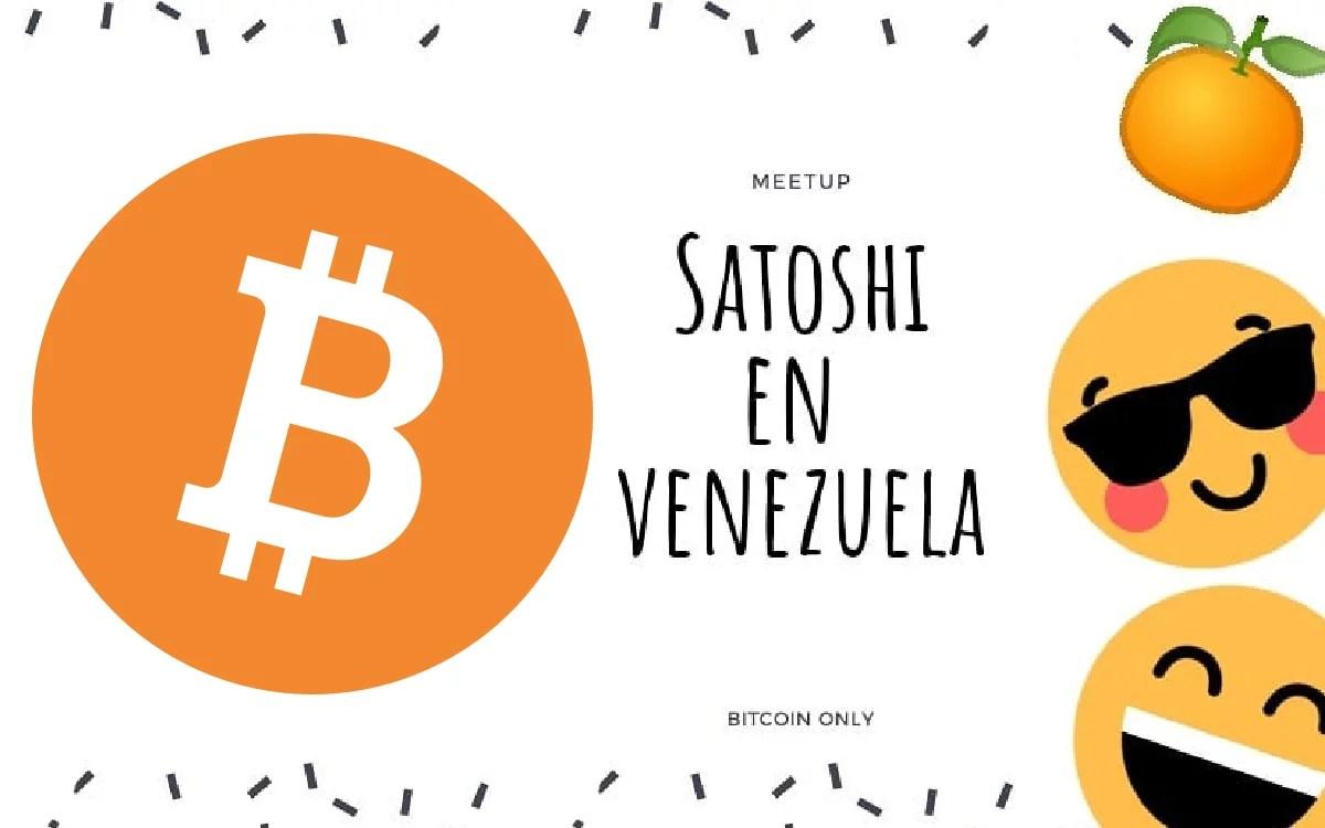 Satoshi en Venezuela organiza su primer meetup en la ciudad de Caracas