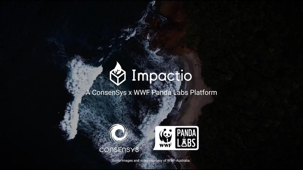 Impactio un desarrollo de ConsenSys y WWF para la filantropía