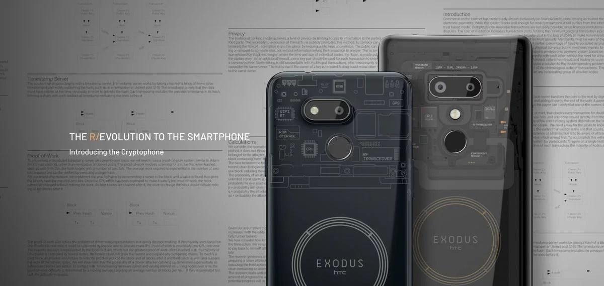 Exodus 1s, el nuevo teléfono blockchain de HTC capaz de ejecutar un nodo completo de Bitcoin es lanzado oficialmente
