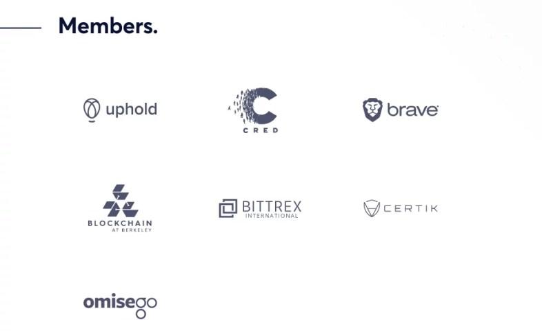 Miembros de la Universal Protocol Alliance