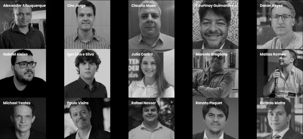 Participantes de la EOS Community Conference 2019 en Brasil