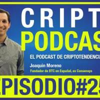 Episodio 25 entrevista a Joaquin Moreno conversando sobre el primer mapa blockchain de latinoamerica