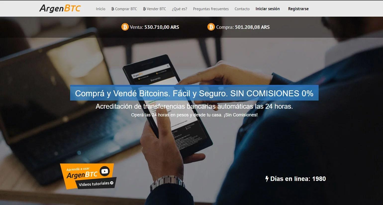 ArgenBTC para comprar BTC en Pesos argentinos