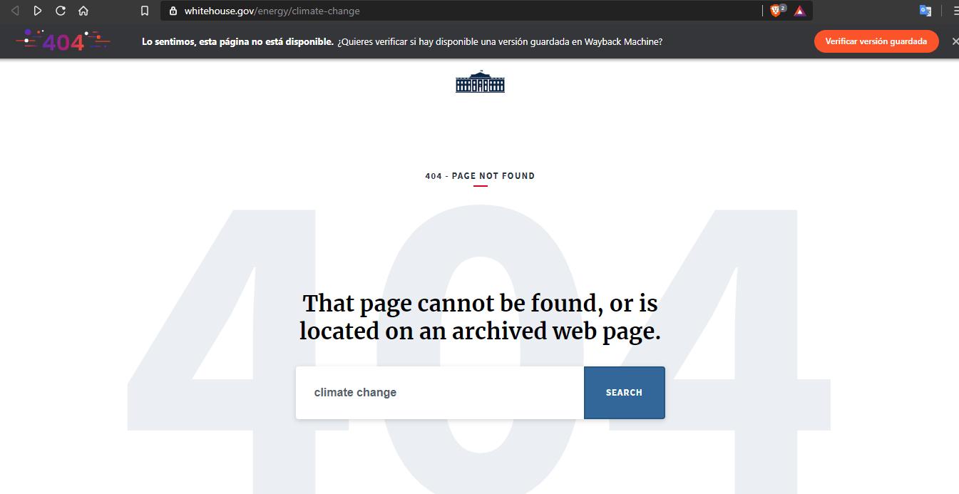 Brave y el Internet Archive traerán versiones pasadas de páginas que no se encuentren disponibles